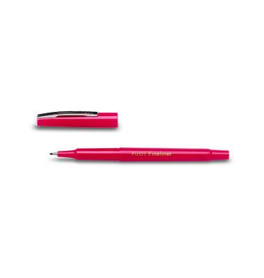 Fineliner SW-PPF rot  0,4 mm mit Kappe