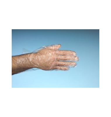 Handschuh LDPE 20my Herren transparent L unsteril 500 Stück