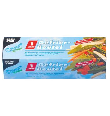 Gefrierbeutel LLDPE 35my 1l transp. 16x24cm 100 Stück