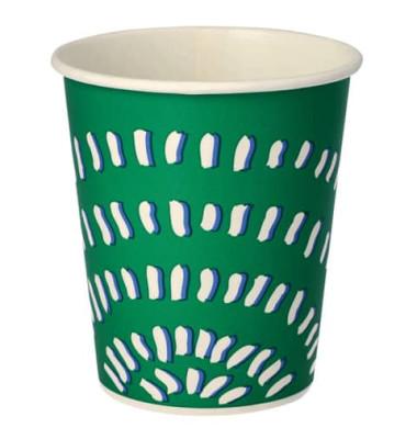 Pappbecher 0,2 Liter weiß 100 Stück
