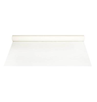 Tischdecke Airlaid stoffähnlich weiß 20m x 1,2m
