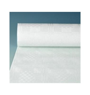 Damasttischtuch Papier 40g weiß 1,2m x 50m 2,4kg