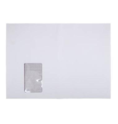 Versandtaschen TopStar C4 mit Fenster haftklebend 120g weiß Laserline Recycling