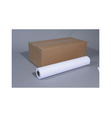 Plotterpapier 91650 420mm x 50m 90g hochweiß satiniert 1 Rolle