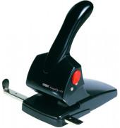 Registratur-Locher HDC65 schwarz 6,5mm 65 Blatt mit Anschlagschiene
