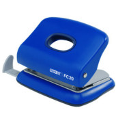 Locher FC20 blau 2mm 20 Blatt mit Anschlagschiene