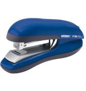 Heftgerät F30 FlatClinch für 24/6 + 26/6 bis 30 Blatt blau
