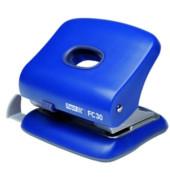 Locher FC30 blau 3mm 30 Blatt mit Anschlagschiene
