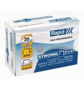 Heftklammern strong 24867400, 21/4, verzinkt, Heftleistung 20 Blatt max., 5000 Stück