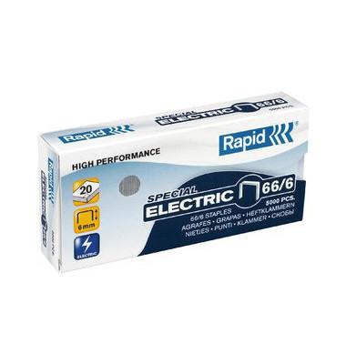 Heftklammern Electric 66/6 verzinkt 5000 Stück