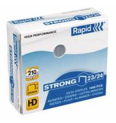 Heftklammern strong 24870500, 23/24, verzinkt, Heftleistung 210 Blatt max., 1000 Stück