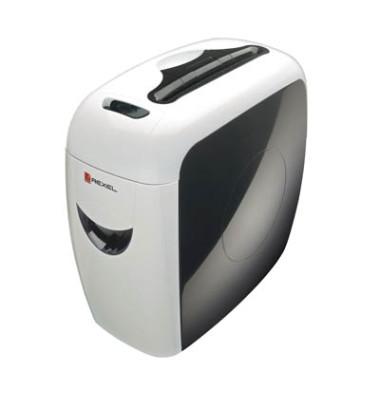 Aktenvernichter Prostyle weiß/schwarz Partikelschnitt 4x 35mm bis 12 Blatt