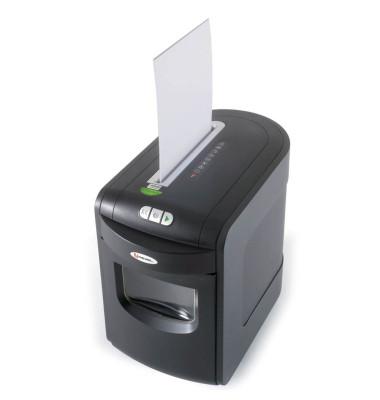 Aktenvernichter Mercury REX1023 schwarz Partikelschnitt 4x 50mm bis 10 Blatt
