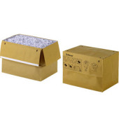 Abfallsäcke für Aktenvernichter 2102441 braun 50 Liter 50 Stück