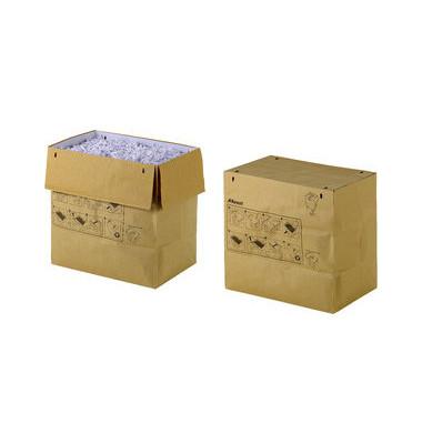 Abfallsäcke für Aktenvernichter 2102442 braun 70 Liter 50 Stück