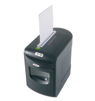 Aktenvernichter Mercury REM723 schwarz Partikelschnitt 1,9x 15mm bis 8 Blatt