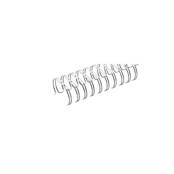 9,5 mm f/ür Ringbindungen Drahtbinder/ücken f/ür Bindungen 2:1 f/ür ca 100 St/ück 75 Seiten SCHWARZ 23 Ringe