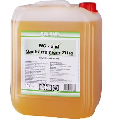 WC- und Sanitärreiniger Zitro Kanister 10 Liter