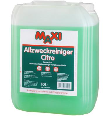 Allzweckreiniger Citro Konzentrat Kanister 10 Liter