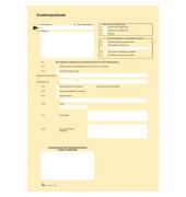 Postzustellungsurkunde 2046 A4