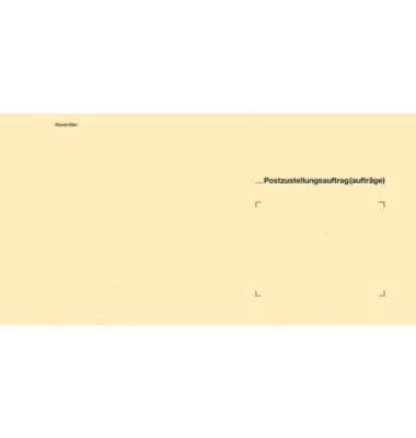 Postzustellungsumschlag äußerer Umschlag 2047 ohne Fenster 125x235mm 500 Stück
