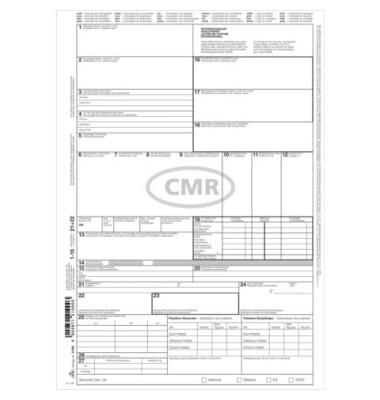 Internationaler CMR-Frachtbrief 2100 A4 selbstdurchschreibend 1x 4 Blatt