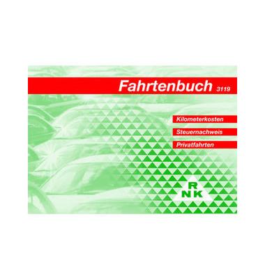 Fahrtenbuch 3119 A6 für PKW 32 Blatt