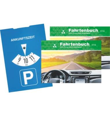 Fahrtenbuch 3120 A5-hoch für PKW 32 Blatt