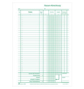 Kassenbuch 3149 nummeriert mit KOPA A4 2x50 Blatt