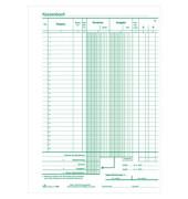 Kassenbuch 3140 1.Blatt fest / 2.Blatt perforiert A4 2x50 Blatt