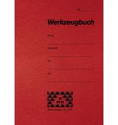 Werkzeugbuch rot A6 8 Seiten