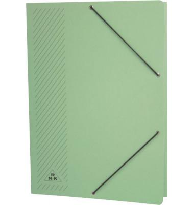 Eckspannmappe 4604 A4 380g grün