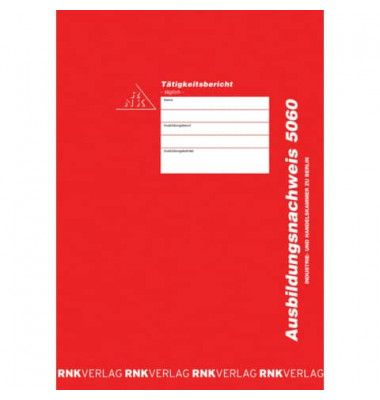 Berichtsheft 5060 IHK Berlin A4 28 Seiten