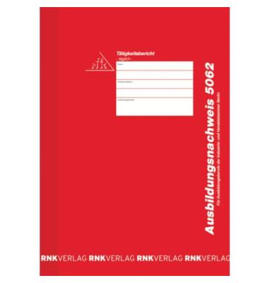 Berichtsheft 5062 für Handwerkskammer A4 28 Seiten