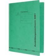 Schnellhefter 5081 für Berichtsblocks A4 grün 230 x 310 mm