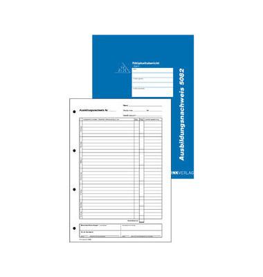 Ausbildungsnachweis 5082 A4 täglich 28 Blatt Block