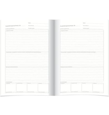 Berichtsheft Ausbildungsnachweis 5083 A4 28 Blatt