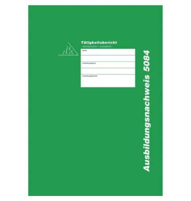 Berichtsheft Ausbildungsnachweis 5084 A4 wöchentlich oder monatlich
