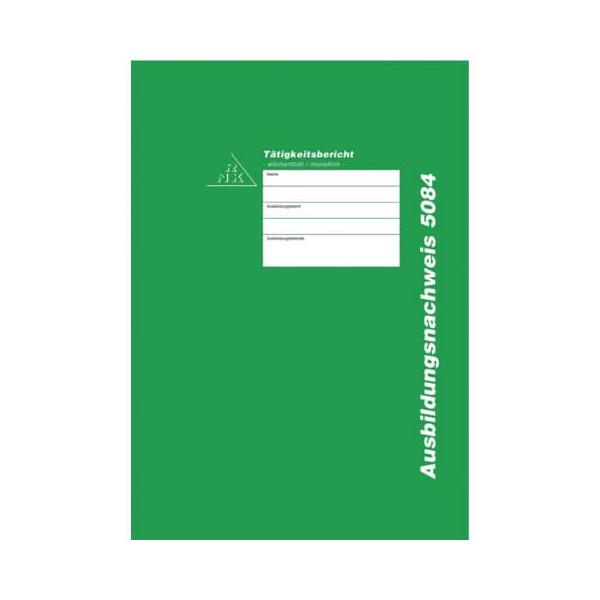 Ausbildungsnachweis RNK 5080 Berichtsheft Tätigkeitsbericht täglich DIN A4
