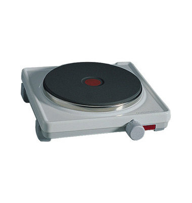 Einzelkochplatte weiß 18cm-Platte 2000 Watt