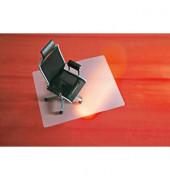 Bodenschutzmatte 90 x 120 cm Form O für Teppichböden transparent PP