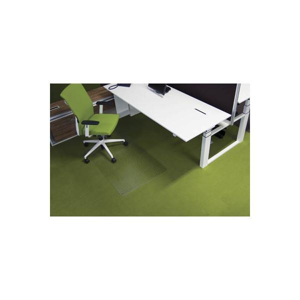 rs office bodenschutzmatte 120 x 90cm f r teppich transparent. Black Bedroom Furniture Sets. Home Design Ideas