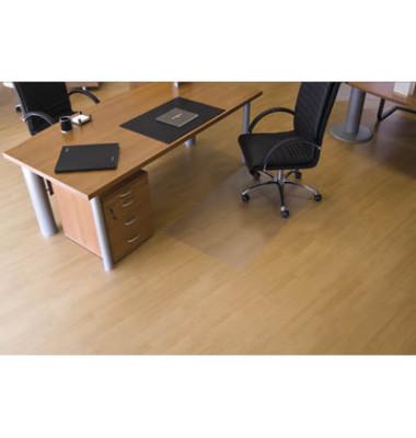 Bodenschutzmatte 120 x 90cm für Hartböden transparent