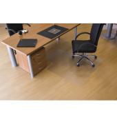 Bodenschutzmatte 120 x 130cm für Hartböden transparent