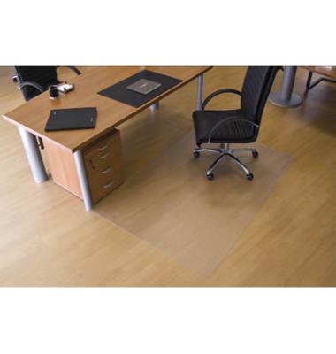 Bodenschutzmatte 120 x 150cm für Hartböden transparent