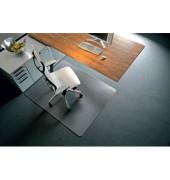 Bodenschutzmatte Rollsafe Serie 13 120 x 150 cm Form O für Teppichböden transparent Makrolon