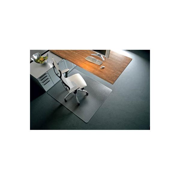 RS Office Bodenschutzmatte 120 x 150cm für Teppich transparent
