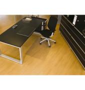 Bodenschutzmatte Rollsafe Serie 22 90 x 120 cm Form O für Hartböden transparent Makrolon