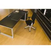 Bodenschutzmatte Rollsafe Serie 22 120 x 130 cm Form O für Hartböden transparent Makrolon