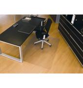 Bodenschutzmatte Rollsafe Serie 22 120 x 180 cm Form O für Hartböden transparent Makrolon
